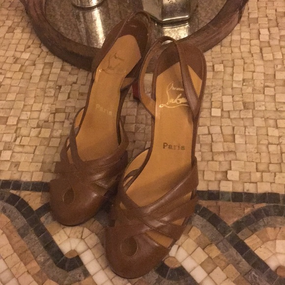 c9ad4a4cf23 Christian Louboutin Shoes - Authentic Christian Louboutin- Size 39